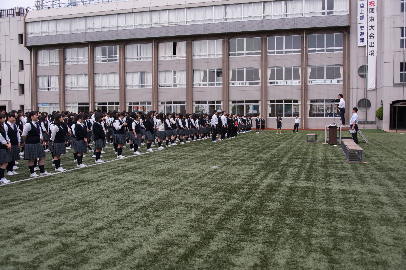 武南高等学校画像